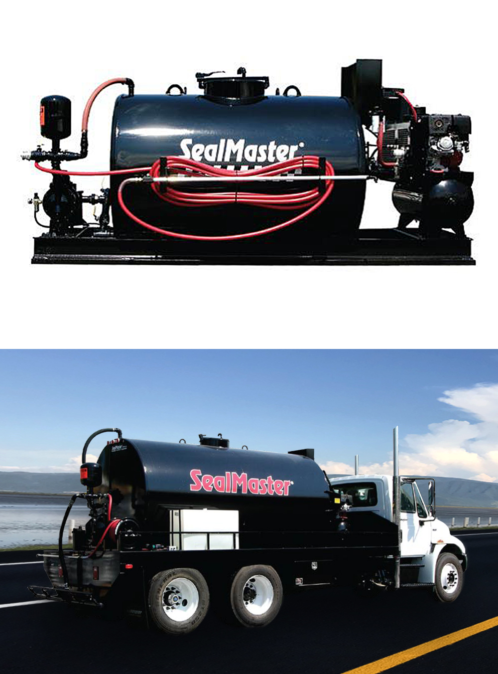Viaker producto: TANQUES SPRAYMASTER™ con Sistema Pro-Aire